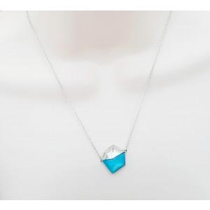 Stephen Webster Superstud blue Cat's Eye Crystal Haze Necklace