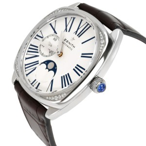 Zenith Star Moonphase 16.1925.692 Unisex Watch in  Stainless Steel