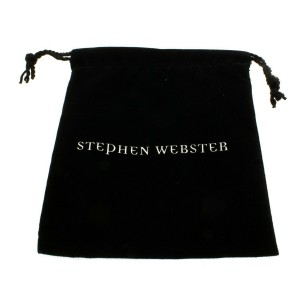 Stephen Webster Silver Jewels Verne Bonafide Stone Grey Cats Eye Bangle