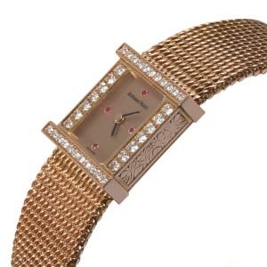 Audemars Piguet Charleston Charleston Women's Watch in 18kt Rose Gold