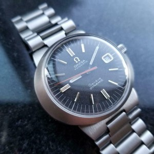 Mens Omega Geneve Dynamic 41mm Date Automatic, c.1970s Swiss Vintage LV647