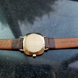 Ladies Rolex Cellini 3878 25mm 18k Gold Hand Wind, c.1970 Swiss Luxury LV701