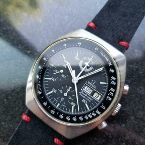 Mens Omega Speedmaster Mark 4.5 Chronograph Ref.176.0012 42mm, 1980s LV291BLK