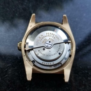 Mens Midsize Rolex Oyster Perpetual 6050 31mm 18k Gold Automatic, c.1940s LV794