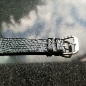 Mens IWC Schaffhausen 35mm Hand-Wind Dress Watch, c.1950s Vintage LV739BLK