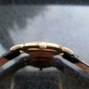 Mens Patek Philippe Calatrava ref.3538 33mm 18k Gold Hand-Wind, c.1970s LV813BLK