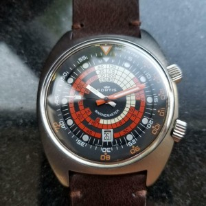 Mens Fortis Marinemaster Super-Compressor 42mm Automatic, c.1960s Swiss MS190