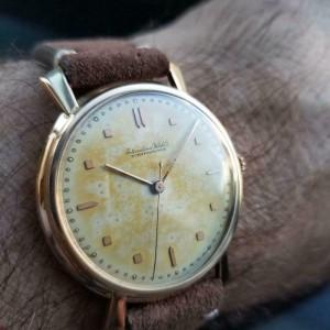 Mens IWC cal.89 36mm 18k Rose Gold Hand-Wind, c.1960s Swiss Vintage LV898BRN