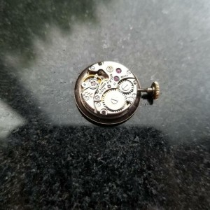 Ladies Rolex Precision Ref.9519 21mm 18K Gold Hand-Wind, c.1960s Swiss MS217