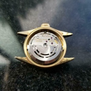 Ladies Rolex Oyster Perpetual 6619 25mm 18k Gold MOP Automatic, c.1960s LV875GRY