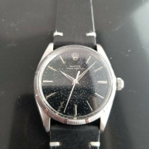 Mens Rolex Oyster Perpetual 1003 34mm Automatic, c.1960s Vintage MA178BLK