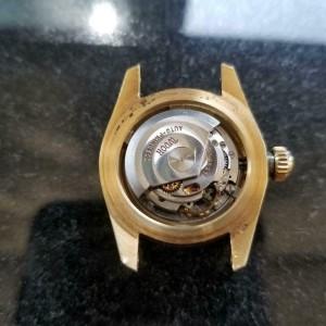 Ladies Tudor Princess Oysterdate 7982 18k Gold Automatic, c.1960s Swiss MS195GRY