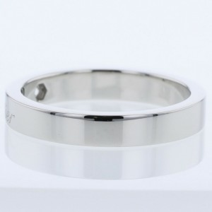 CARTIER 950 platinum Engraved C de Ring