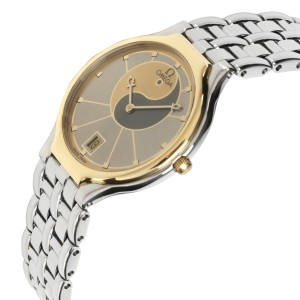 Omega Symbol 196.0316 Unisex Watch in  Stainless Steel and Yellow Gold