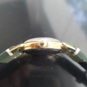 Mens Rolex Precision 35mm Gold-Capped Hand-Wind Dress Watch, c.1950s MA179GRN