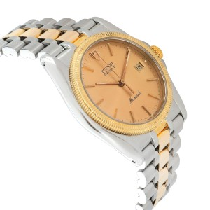 Tudor Monarch 15633 Men's Watch in 18kt Stainless Steel/Yellow Gold