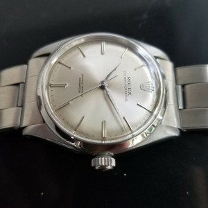 Mens Rolex Oyster Perpetual Ref.6564 34mm Automatic Dress Watch, c.1950s MA192