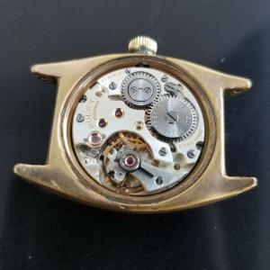 Mens Rolex Precision Ref.3116 29mm Gold-Capped Hand-Wind, c.1940s w/Box MA193BLK