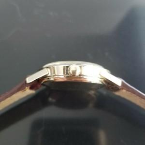 Mens Rolex 7002 35mm 14k Gold-Filled Automatic Dress Watch c.1970s w/Paper MA196