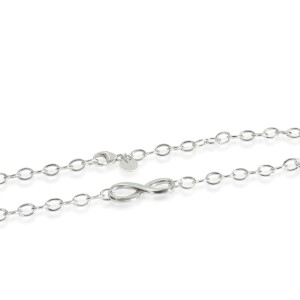 Tiffany & Co. Infinity Large Link Necklace in Sterling Silver
