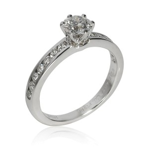 Tiffany & Co. Diamond Engagement Ring in Platinum 0.75 CTW