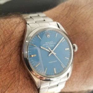 """Mens Rolex Oyster Precision 5500 """"Air-King"""" 34mm Automatic, c.1970s Swiss RA116"""