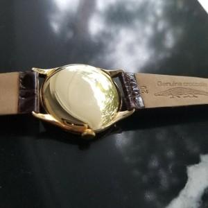 Mens Vacheron & Constantin Geneve 35mm 18K Solid Gold Hand-Wind, c.1960s MA168