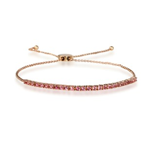 My Story Pixie Bolo Tourmaline Bracelet in 14K Rose Gold