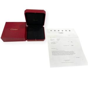 Cartier Love Diamond Pendant in 18K White Gold 0.34