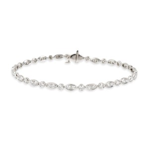 Tiffany & Co. Diamond Jazz Bracelet in Platinum (1.60 CTW)