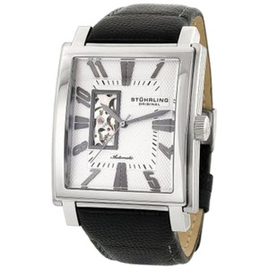 Stuhrling Metropol 267.33152 Stainless Steel & Leather 41mm x 47mm Watch