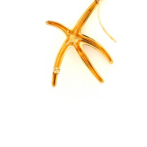 Tiffany & Co. Elsa Peretti Starfish Brooch 18K Yellow Gold Large