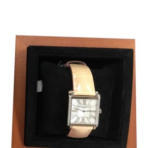 Baume & Mercier Stainless Steel and Diamond Quartz Watch