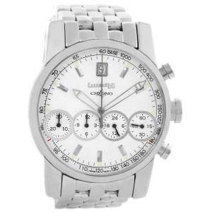 Eberhard Chrono 4 Stainless Steel Chronograph Mens Watch 31041