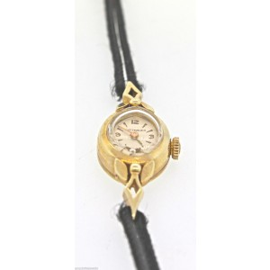 Wittnauer Solid 14K Yellow Gold Gemex Vintage Watch
