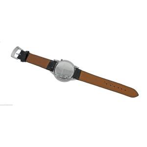 Bertolucci Montre Quartz Volta Stainless Steel Silver Diamond Dial Watch