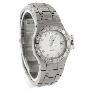 Concord 14.36.1840 Saratoga Stainless Steel Diamond Date Lovley Ladies Watch