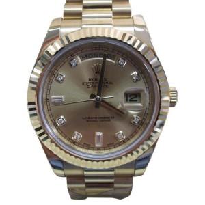 Rolex Day Date II 218238 41mm Mens Watch