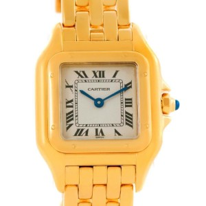 Cartier W25022B9 Panthere 18k Yellow Gold Quartz Ladies Watch