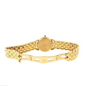 Mont D'Or Bienne 18K Yellow Gold 0.95ctw Diamond MOP Swiss Quartz Ladies Watch
