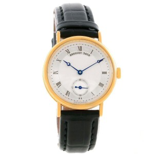 Breguet Classique 5907BA/12/984 18K Yellow Gold Mechanical Mens 34.6mm Watch