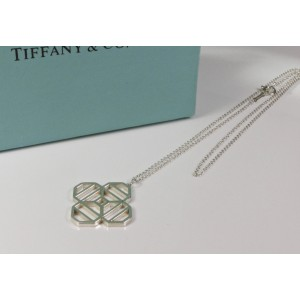 Tiffany & Co. Paloma Picasso Zellige Sterling Silver Pendant Necklace