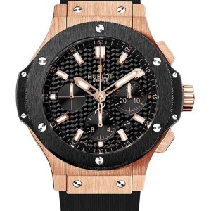 Hublot Big Bang Evolution 18K Rose Gold Ceramic Men's 44mm Watch