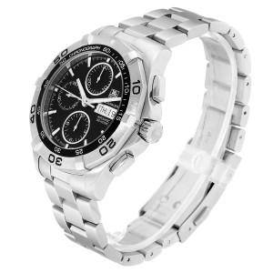 Tag Heuer Aquaracer Black Dial Chronograph Mens Watch CAF2010