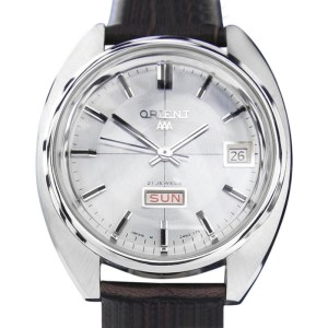 Orient Triple A T751 Stainless Steel Automatic Vintage 37mm Mens Watch