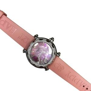 Chopard Happy Sport Love Stainless Steel with Diamonds & Rubies 39mm Womens Watch