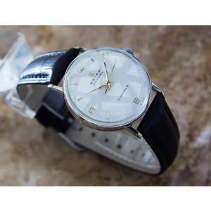 Seiko Marvel Stainless Steel Manual 30mm Mens Watch 1960s