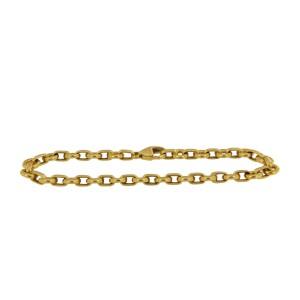 Tiffany & Co. 18 k Yellow Gold Round Chain Link Bracelet
