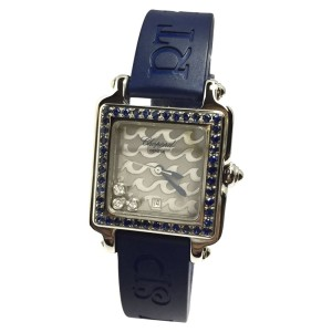 Chopard Be Happy 2 Stainless Steel / Rubber 27.4mm Womens Watch