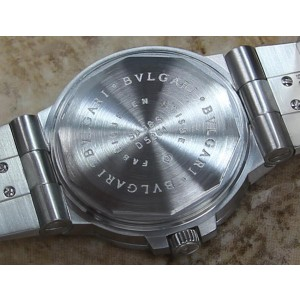 Bulgari SD 38 D 5261 Automatic Stainless Steel Luxury 38mm Mens Dress Watch